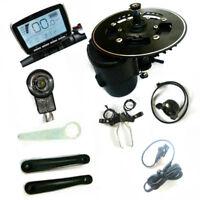 TSDZ2 Mid Motor ebike Kit,Torque Sensor 48V 750W, Throttle,6V light included