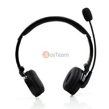 Bluetooth 4.1 Stereo Wireless Noise-Canceling Headset W/ Mic for Trucker Drivers