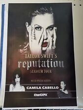 Taylor Swift 11x17 promo advert Reputation tour poster concert shirt tickets