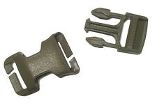 """1"""" / 25mm ITW QASM Quick Attach Buckle for MOLLE - Coyote Brown - Military Grade"""