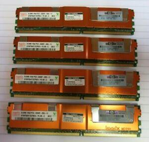 Hynix HYMP564F72CP8E4-Y5 389705-051 2GB (4x512MB) PC2-5300 DDR2 ECC CL5 240P RAM