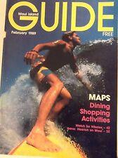 Maui Island Guide Magazine Dining Shopping Activities February 1989 081117nonrh