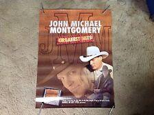 24x18 John Michael Montgomery Promo poster Cd Lp country music vintage. c c