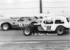Mike Loescher & Ray Hendrick at Langhorne Speedway Photo