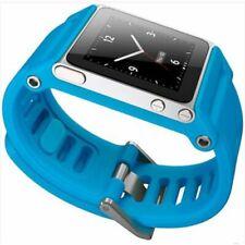 TikTok Multi Touch Bracelet Sport Strap TTBLU-008 Silicone Blue