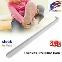 6-22inch Stainless Steel Long Handled Metal Shoe Horn Lifterwith Hanging Hole