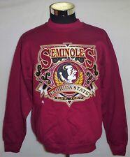 Florida State Seminoles Football Vintage Grand Sport Brand Sweatshirt Size XL