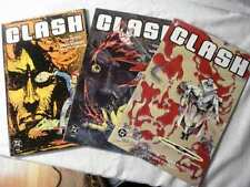 CLASH 3 BOOK DELUXE MINI SERIES (1991, DC) FP  NM