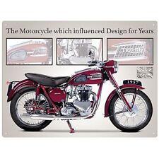 Plaques, panneaux et enseignes en métal moto pour la décoration intérieure de la maison