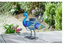 Smart Solar Peacock Spiralight  Garden Decoration Multicoloured