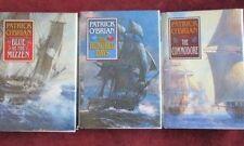 Patrick O'Brian - 3 Volume hardcover set (JACK AUBREY) - BLUE - COMMODORE - HU