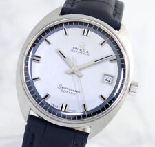 VINTAGE OMEGA SEAMASTER COSMIC AUTO CAL565 DATE SILVER DIAL MEN'S WATCH