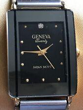 Geneva quartz wrist watch very stylish quality finish