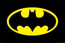 DC Comics Batman Logo 24x36 Poster - Dark Knight Home Decor Wall Art Print New