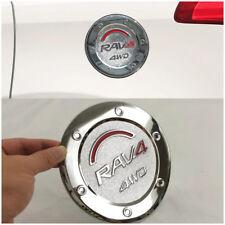 1pcs x Chrome Gas Cap Fuel Tank Cover Trim For Toyota RAV4 2016-2017