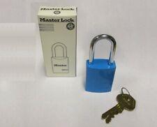 Master Lock 6835blu 1 34 High Lockout 5 Pin Keyed Different Blue Padlock