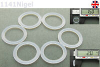 15mm OD  2mm CS O Rings Seal Silicone VMQ Sealing O-rings Washers