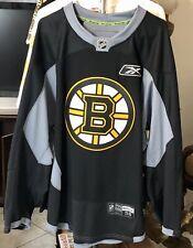 Authentic Reebok CCM NHL Practice Jersey Boston Bruins Game Worn Size 58
