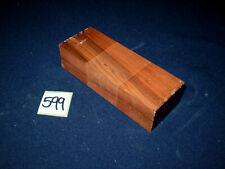 Tineo Indischer Apfelbaum Messergriffblock 120 x 43 x 31 mm  Nr. 599