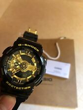 Casio G-Shock Black and Gold Watch GA110GB-1A Brand New (See Notes)