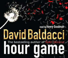 Hour Game by David Baldacci (CD-Audio, 2008) 4CD Very Rare