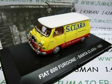 PIT19 1/43 ixo altaya Vehicles Italy: Fiat 600 Van/Wagon Santa Clara 1962