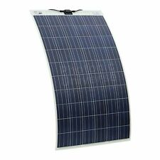 250W Semi-flexible Solar Panel for Motorhome Caravan Campervan RV Yacht 250 Watt
