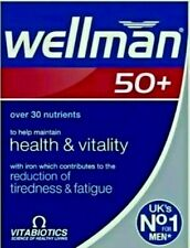 Vitabiotics Wellman 50+ Plus Advanced Vitamin and Mineral 30 Tablets Long Expiry