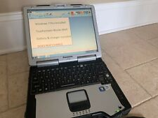 New listing Panasonic ToughBook 29 Mk5 Touchscreen (80Gb, 1.6Ghz, 2Gb Ram)
