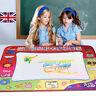 Kids Aqua Doodle Water Painting Drawing Mat Large Writing Board Magic Pen Toy