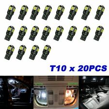 20x CANBUS T10 194 168 W5W 5730 8 LED SMD Coche Blanco Lámpara Bombilla Cuña lateral