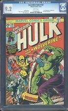 Incredible Hulk 181 CGC 9.2 WP Bronze Age Key Comic 1st App Hulk IGKC L@@K