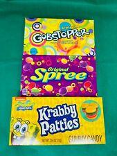 Gobstopper Original Spree USA Import American Candy Theatre Box Spongebob