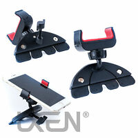 Universal Car CD Slot GPS Sat Nav Stand Holder Mount Cradle iPhone Samsung