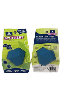 Top Paw Stuffers Natural Rubber Dog Toy Moderate Chewers Large Size Lot of 2