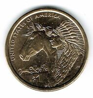 2012-D $1 Brilliant Uncirculated Business Strike Native American Dollar Coin!