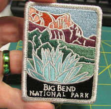 New Traveler Series Embroidered Patch - Big Bend National Park - Texas - iron on