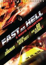 Fast As Hell 3 FILM Collection The Junkman Deadline Auto Theft Gone in 60 Second