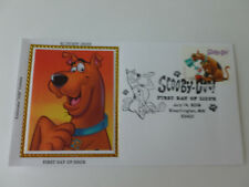Scooby-Doo Fdc Sc#5299 Colorano Silk Limited Cachet Cover (2018 Issue) [Type #2]