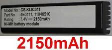 Batterie 2150mAh type 11040510 4E 0111 4E0111 Pour Kodak DCS-760