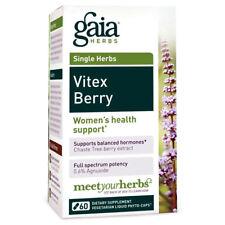 Gaia Herbs Vitex Berry, 60 Liquid Phyto-Capsules 500 mg
