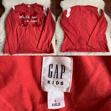 Gap Kids Pullover Sweater size L