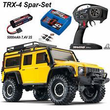 Traxxas Trx-4 LR Land Rover Crawler Defender 4x4 Giallo RTR 1-10 Trx82056-4ylw