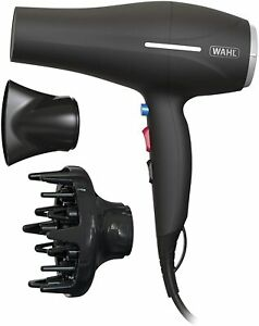 Wahl IONIC SMOOTH Hair Dryer 2200W Professional Lightweight Compact & Diffuser