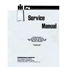 IH Cub Cadet Service & Owners Manual Set 86 108 109 128 129 149 169 w/ GSS-1465