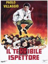 IL TERRIBILE ISPETTORE (Paolo Villaggio) DVD NUOVO