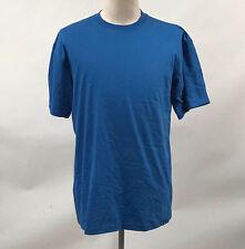 Hurley Men's Classic T-Shirt Staple Royal Blue Size L NEW