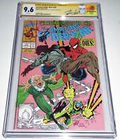 Amazing Spider-Man #336 Dual Signature Autograph CGC SS STAN LEE ERIK LARSEN SIN