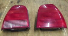 VW POLO 6N 2 GENUINE HELLA RIGHT+ LEFT PAIR REAR  TAIL LIGHTS FROM 2000 YEAR CAR