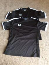 Sondico Mens Black Football soccer Training Shirts Small